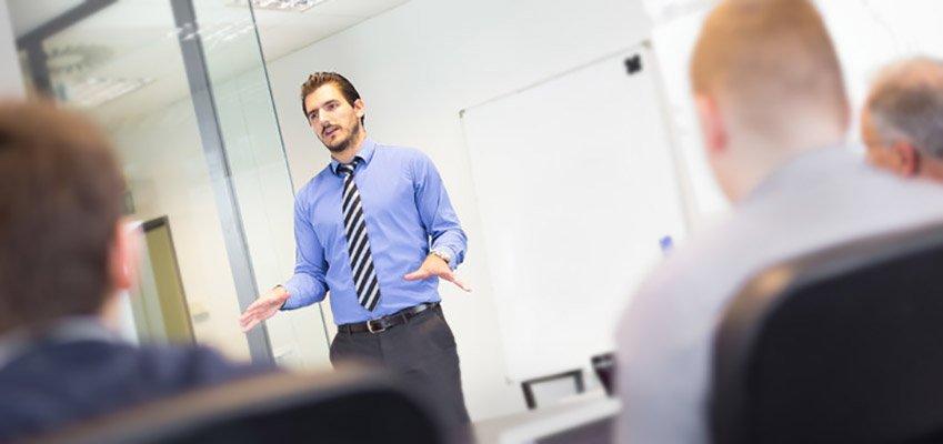 corporate presentation skills