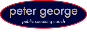 peter george public speaking training