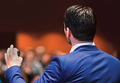 public speaker presentation skills