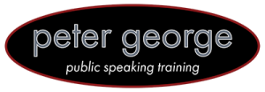 peter george public speaking training logo