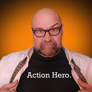 action hero speaker john davis